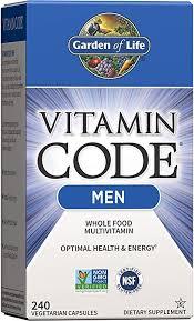 Garden of Life Vitamin Code Multivitamin for Men ... - Amazon.com