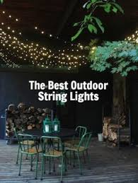 the best outdoor string lights to light up the backyard patio or balcony backyard string lighting ideas