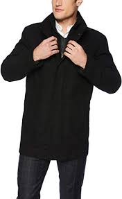 <b>Marc New</b> York by Andrew Marc <b>Men's</b> Coyle Wool Stand Collar ...