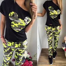 Find More <b>Women's</b> Sets Information about 2018 Camouflage ...