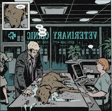 end of the universe comics that dog becomes his and he s it lucky he only talks to the dog when kate s not there