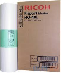 <b>Мастер</b>-<b>плёнка Ricoh A3 RICOH</b> PRIPORT MASTER HQ40L для ...