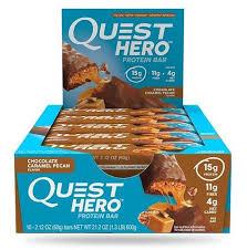 Quest Hero Bar Chocolate Caramel Pecan, 60гр (1шт ...