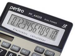 <b>Калькулятор Perfeo Silver PF_A4028</b>, цена 44 руб., купить в ...