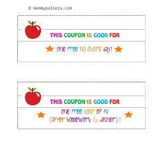 Free Printable Back to School Coupon Book for Kids - mommypalooza™ free printable back to school coupons for kids