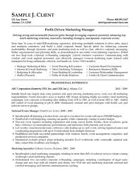 marketing resume samples hiring managers will notice resume marketing manager resume