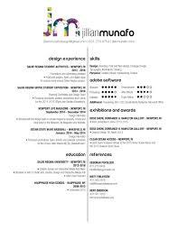 resume jillian munafo design jm resume jpg
