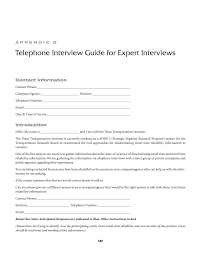 appendix b telephone interview guide for expert interviews page 167