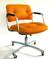 modern small orange laminated fabric charming desk office vintage