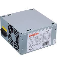 <b>Блок питания</b> 500Вт <b>ATX</b> 2.3 <b>Exegate AA500</b> 8 см, 24 плюс 4pin, 2 ...