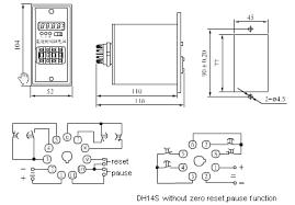timer relay wiring diagram timer image wiring diagram timing relays js14s dh14s digital display time relay s on timer relay wiring diagram