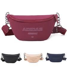 Adidas <b>Women Men</b> Chest <b>bag</b> waist <b>bag</b> sport sling <b>bag Running</b> ...