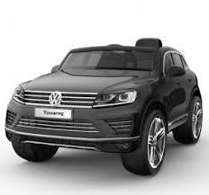 Детский <b>электромобиль Jiajia Volkswagen</b> Touareg Black ...
