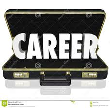 career word black briefcase new job working position stock career word black briefcase new job working position