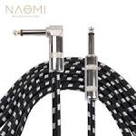 <b>NAOMI 3 Meters</b>/ 10 Feet Electric Guitar Cable Bass Musical ...