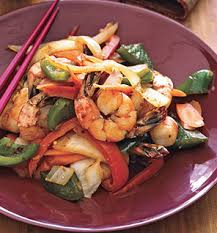 Chinese Spicy Shrimp Stir Fry Recipe