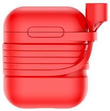 <b>Чехол Baseus для</b> футляра AirPods с держателем для наушников ...