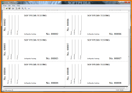 raffle ticket template cashier resume 8 raffle ticket template