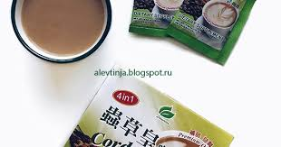 Longreen Corporation, Cordyceps Coffee, 4 в 1 ... - Мои рецепты