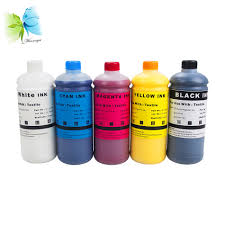 <b>WINNERJET 1000ML</b> Textile <b>Ink For</b> Epson Stylus T50 R290 4000 ...