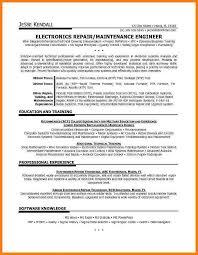 c  build technician resume   electronic technician    related post for technician resume   electronic technician