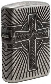 <b>Зажигалка</b> Zippo <b>Armor Celtic</b> Cross Design 29667