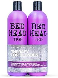 <b>TIGI Bed Head Dumb</b> Blonde Shampoo and Conditioner 750 ml ...