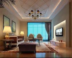 model living rooms: modern european living room scene model