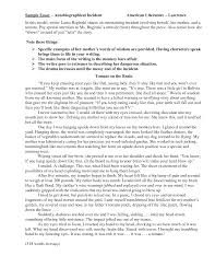 autobiography essay ideas autobiography essay ideas feedback samples archives the tutoring best photos of write autobiography essay autobiography essay