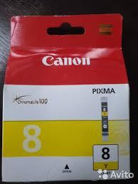 <b>Картридж Canon CLI</b>-8Y купить в Белгородской области на Avito ...