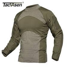 TACVASEN <b>Men</b> Summer Tactical <b>T shirt Army Navy</b> Combat Airsoft ...