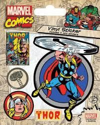 Купить «<b>Набор стикеров Marvel</b> Comics (Thor Retro)» по цене 300 ...