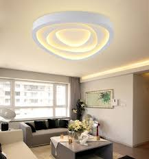 led living room ceiling light flush mount ceiling lighting living room