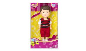 <b>Кукла Paula Мой друг</b>, костюм красный в полоску — купить в ...