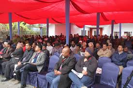 th literature festival kicks off in pokhara general the hari bamsha acharya senior journalists harihar birahi narayan wagle editor in chief of kantipur daily sudheer sharma and educationalist kedar bhakta
