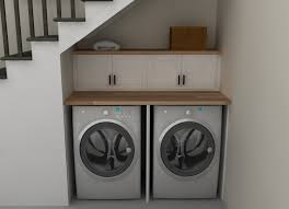 Narrow Laundry Room Ideas 29 Brilliant Ideas For Utilizing The Space Under The Staircase