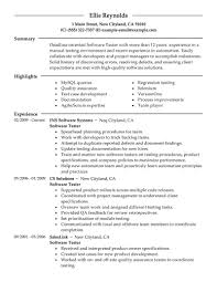 software testing resume sample management resume sample resume    resume design