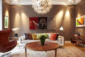 brown living room decorating ideas with beautiful tracking light beautiful brown living room