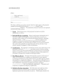 letter of understanding template info 707951 letter of intent sample template letter of intent
