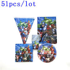Avengers 51Pcs Raytheon Captain America Hulk Cup board flag ...