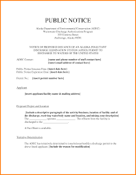 legal notice template ledger paper public notice template pictures
