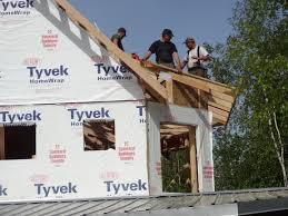 home builder straight ahead construction llc  another fairbanks alaska scissor truss roof