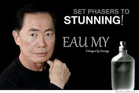 George Takei Cologne | WeKnowMemes via Relatably.com