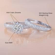 <b>2019 new</b> product women wedding couple diamond <b>925 sterling</b> ...