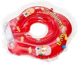 <b>Круг</b> для купания на шею <b>BabySwimmer</b> 0-24 мес в ассортименте ...