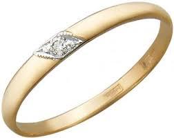 Золотые <b>кольца Кольца</b> Эстет 01O110051 за 5 100 руб ...