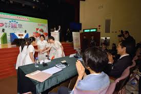 centre for food safety highlights of final round and award the support team of st clare s girls school delivers food safety messages in form of rap and slogans