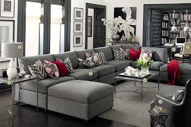 gray and red living room ideas simple creations with steel square table amazing interior items decorate amazing red living room ideas