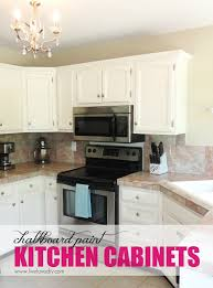 Kitchen Cabinet Makeover Diy Livelovediy The Chalkboard Paint Kitchen Cabinet Makeover