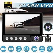 elegantstunning C9 <b>3 Lens</b> Car DVR Camera 4 inch LCD 1080p IR ...